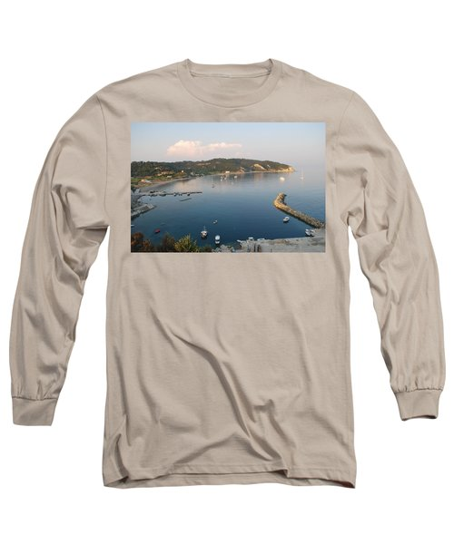 Long Sleeve T-Shirt featuring the photograph Porto Bay by George Katechis