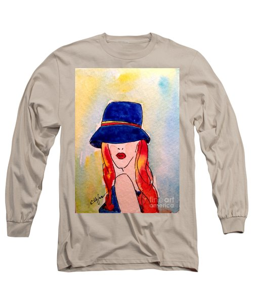 Portrait Of A Woman Long Sleeve T-Shirt