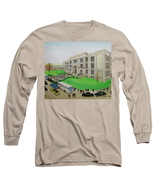 Portsmouth Trojans Travel To An Away Game Long Sleeve T-Shirt by Frank Hunter