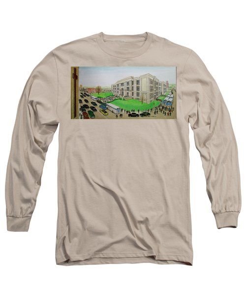 Portsmouth Trojans Travel To An Away Game Long Sleeve T-Shirt