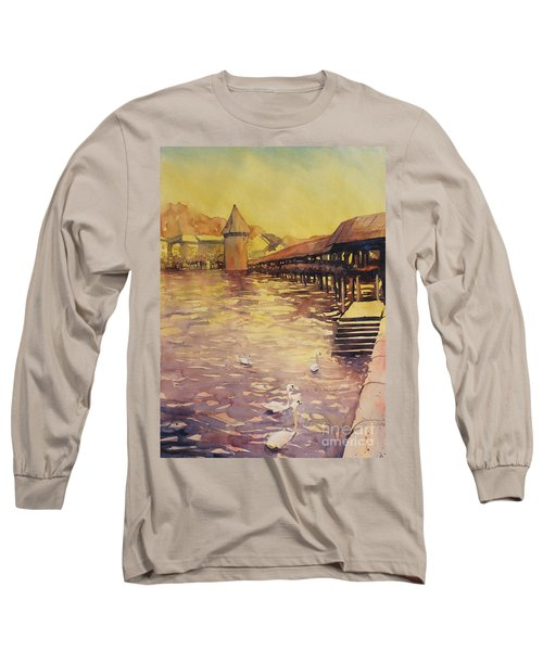 Posing For Tourists Long Sleeve T-Shirt