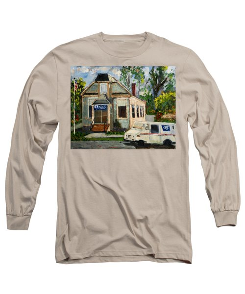Post Office At Lafeyette Nj Long Sleeve T-Shirt