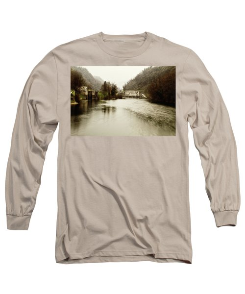 Power Plant On River Long Sleeve T-Shirt