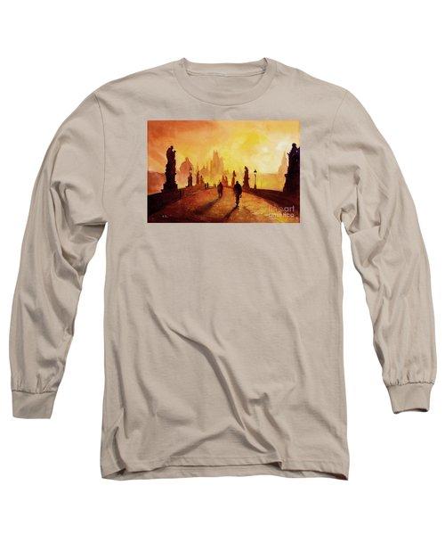 Prague Sunrise Long Sleeve T-Shirt