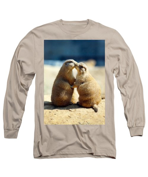 Prairie Dogs Kissing Long Sleeve T-Shirt
