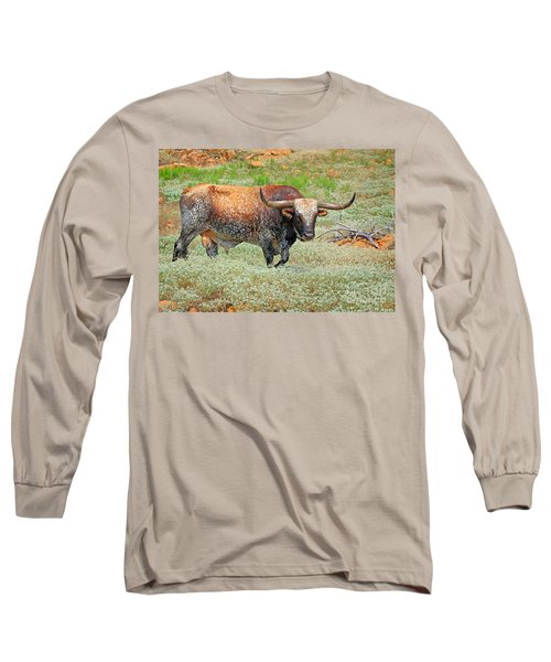 Prairie Longhorn Long Sleeve T-Shirt