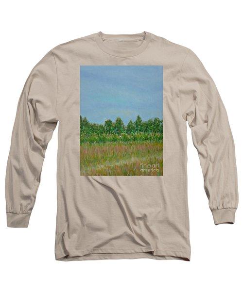Prairie Morning Light Long Sleeve T-Shirt