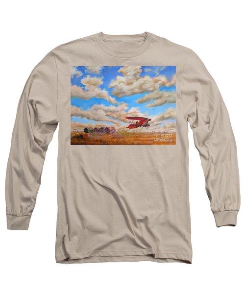 Prairie Runway Long Sleeve T-Shirt