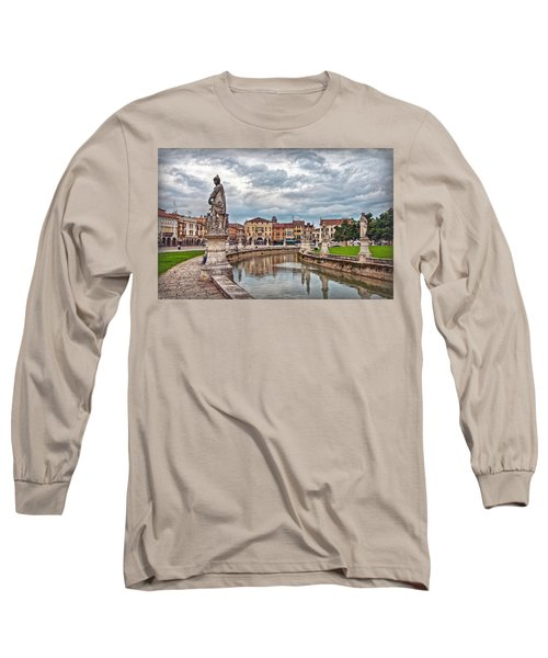 Prato Della Valle Long Sleeve T-Shirt by Hanny Heim
