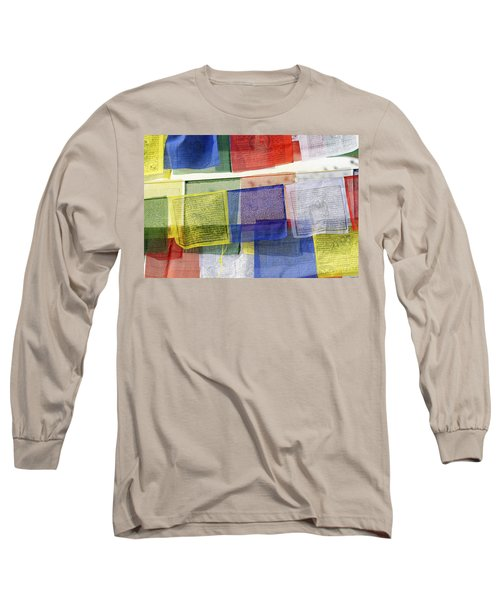 Prayer Flags Long Sleeve T-Shirt