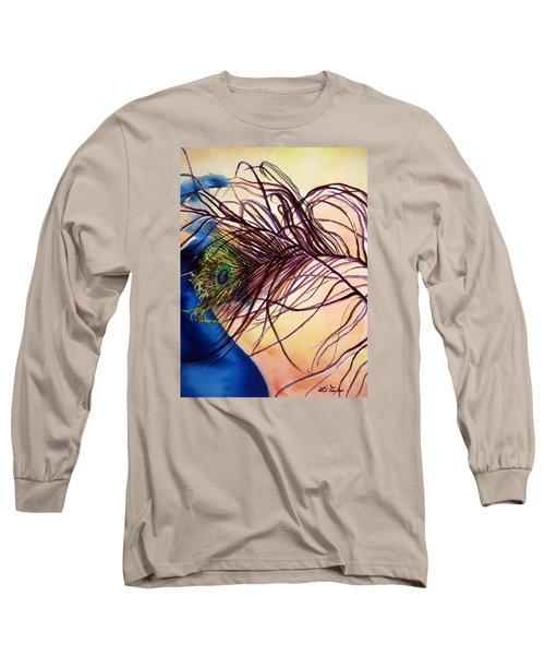 Preening For Attention Sold Long Sleeve T-Shirt by Lil Taylor