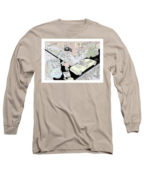 Presenting A Few Of New York Curiosities Long Sleeve T-Shirt