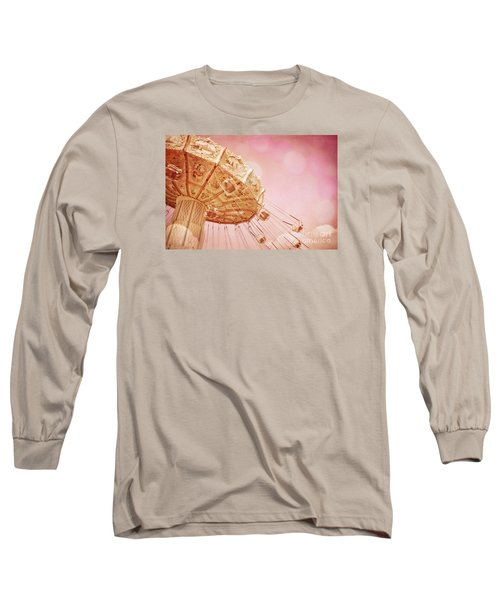 Carnival - Pretty In Pink Long Sleeve T-Shirt by Colleen Kammerer