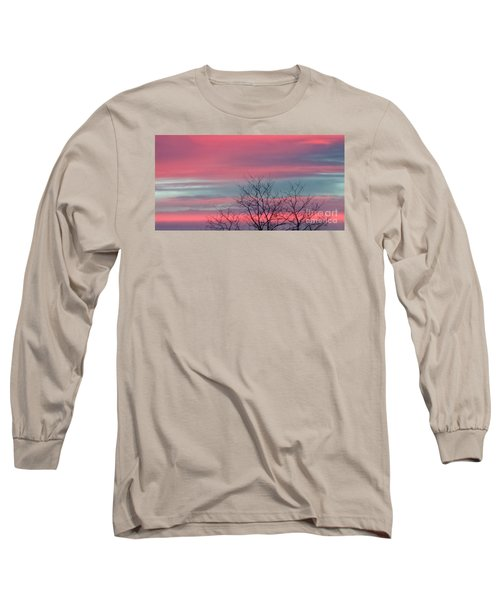 Pretty In Pink Sunrise Long Sleeve T-Shirt