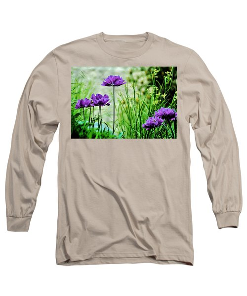 Pretty Purple Long Sleeve T-Shirt