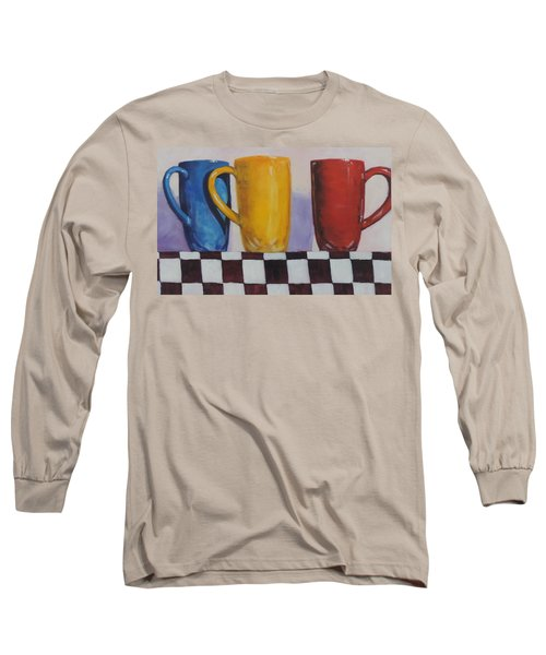 Primarily Coffee Long Sleeve T-Shirt