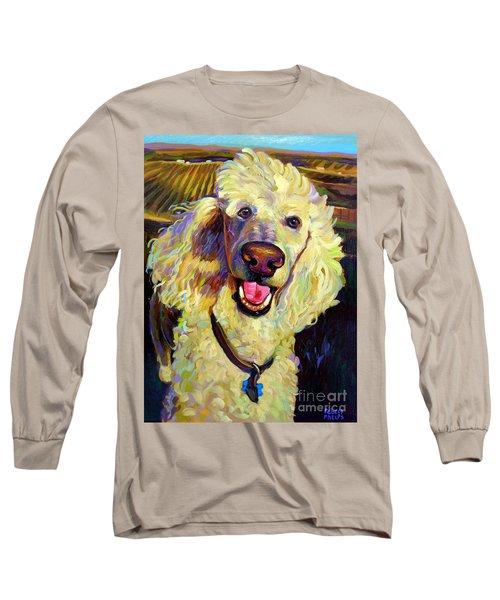 Princely Poodle Long Sleeve T-Shirt