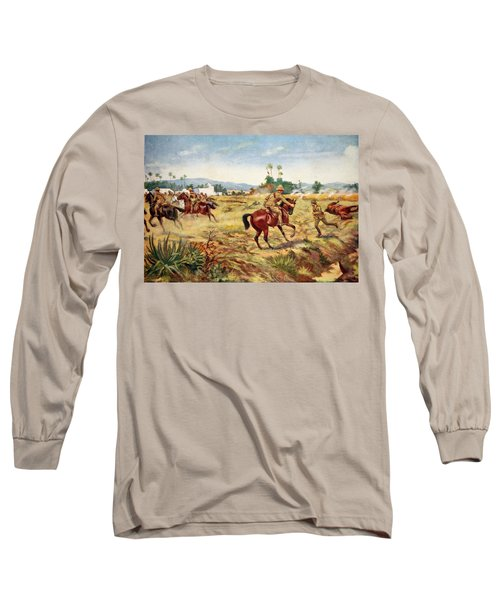 Private C. Hull Saving The Life Long Sleeve T-Shirt