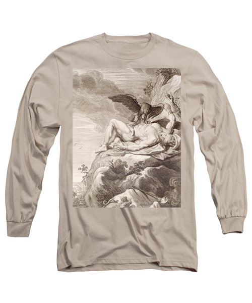 Prometheus Tortured By A Vulture Long Sleeve T-Shirt