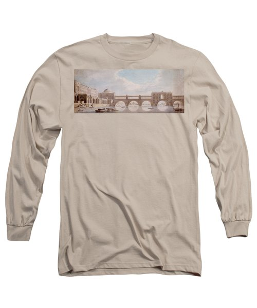 Proposed Design For A Bridge Long Sleeve T-Shirt