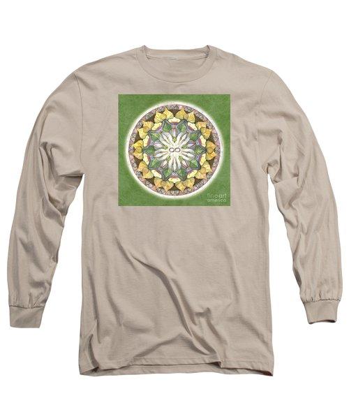 Prosperity Mandala Long Sleeve T-Shirt