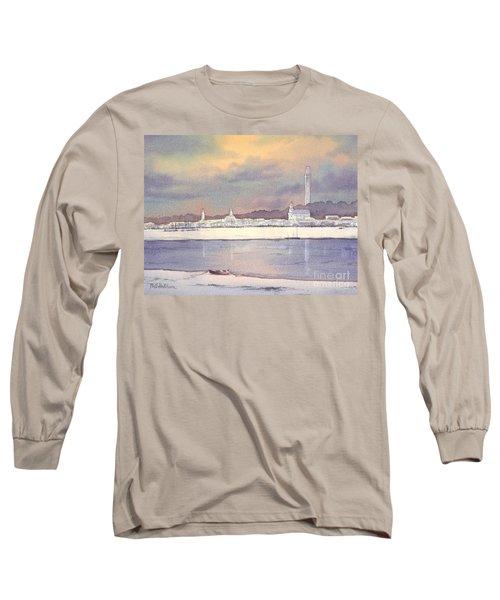 Provincetown Evening Lights Long Sleeve T-Shirt