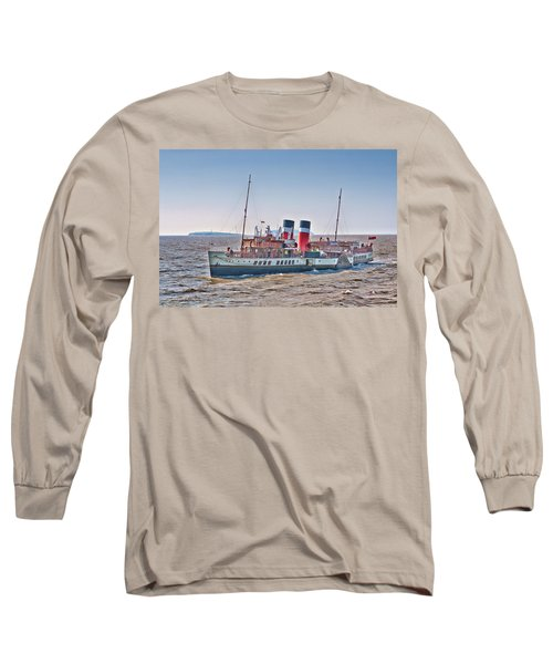 Ps Waverley Approaching Penarth Long Sleeve T-Shirt by Steve Purnell
