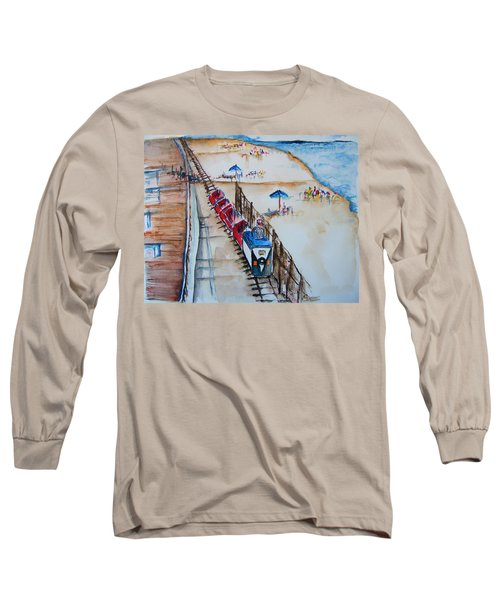 Pt Pleasant Nj Sand Train Long Sleeve T-Shirt