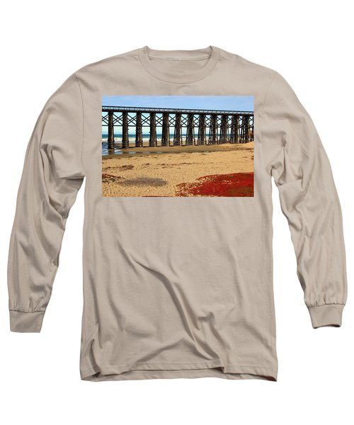 Pudding Creek Bridge Long Sleeve T-Shirt