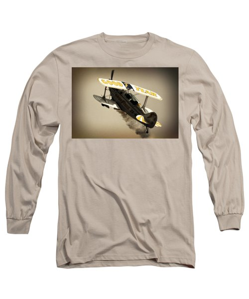Pulling Up Long Sleeve T-Shirt