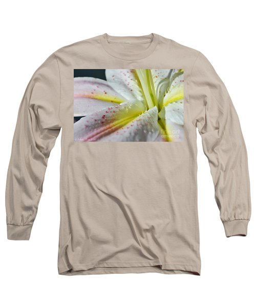 Pure And Fragrant Long Sleeve T-Shirt by Felicia Tica