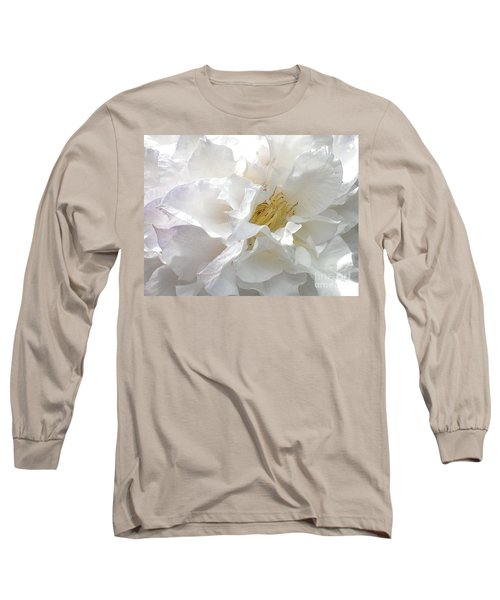 Pure White Long Sleeve T-Shirt