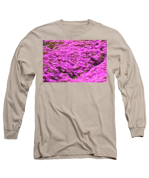 Long Sleeve T-Shirt featuring the photograph Purple Hills by Amy Gallagher