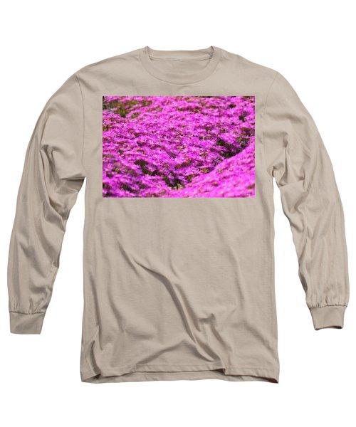 Purple Hills Long Sleeve T-Shirt