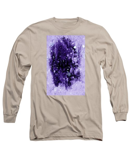 Purple Impression Long Sleeve T-Shirt