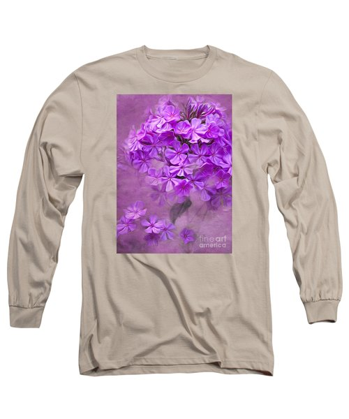 Purple Phlox Long Sleeve T-Shirt