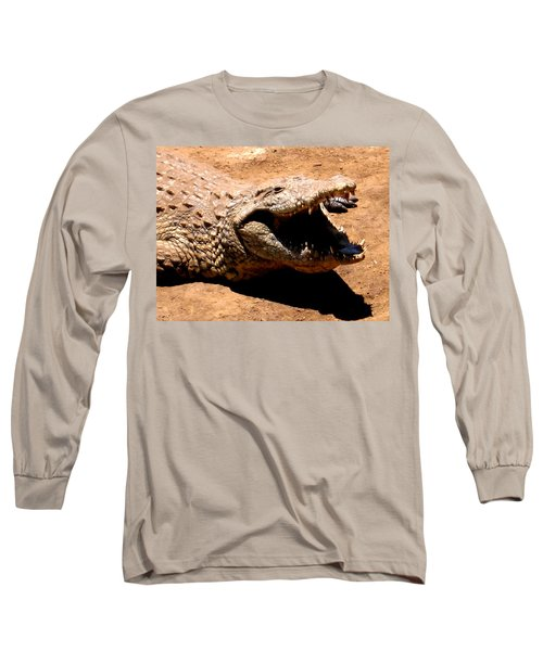 Put It Right Here Long Sleeve T-Shirt by Jay Milo