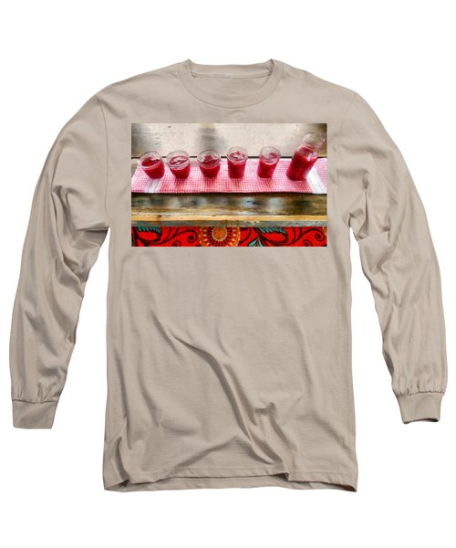 Putting Up Preserves Long Sleeve T-Shirt by Michelle Calkins