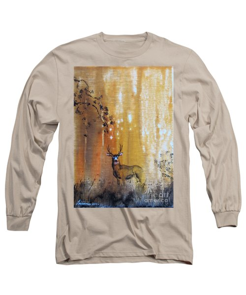 Quiet Time Long Sleeve T-Shirt by Laurianna Taylor