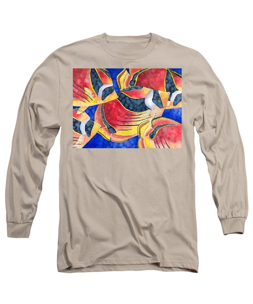 Raccoon Butterflyfish Long Sleeve T-Shirt