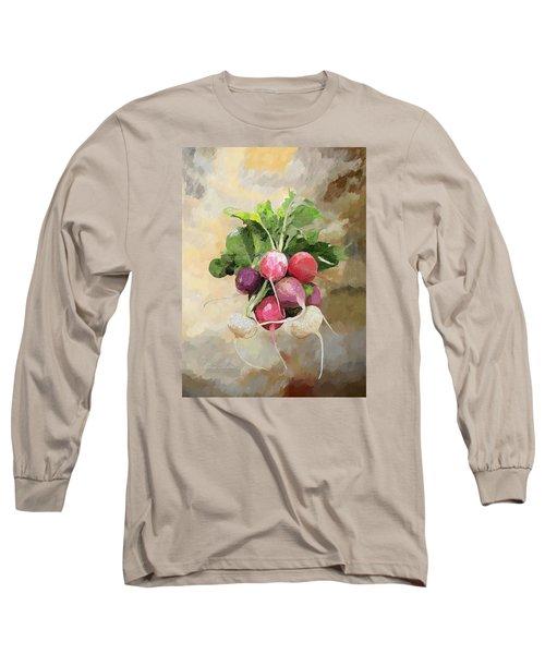 Radishes Long Sleeve T-Shirt by Enzie Shahmiri