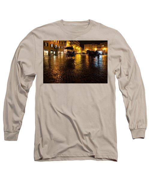 Rain Chased The Tourists Away... Long Sleeve T-Shirt