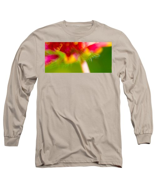 Rainbow Flower Long Sleeve T-Shirt