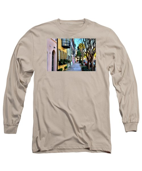Rainbow Row Hdr Long Sleeve T-Shirt