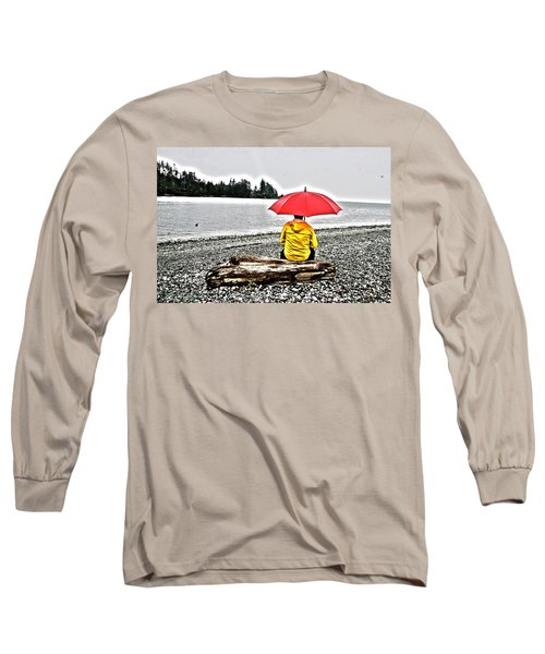 Rainy Day Meditation Long Sleeve T-Shirt