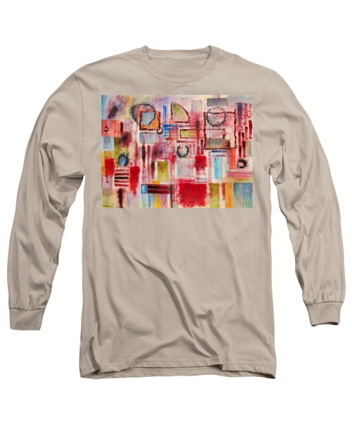 Rainy Panes Long Sleeve T-Shirt by Jason Williamson