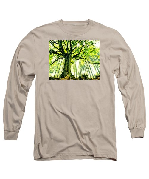 Raised By The Light Long Sleeve T-Shirt by Catherine Lott