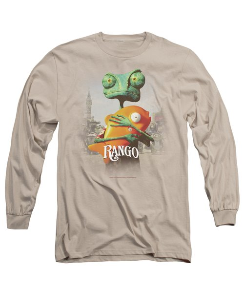 Rango - Poster Art Long Sleeve T-Shirt by Brand A