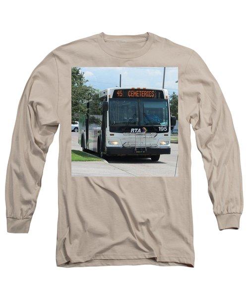 Cemeteries - Rapid Transit Authority - New Orleans La Long Sleeve T-Shirt by Deborah Lacoste
