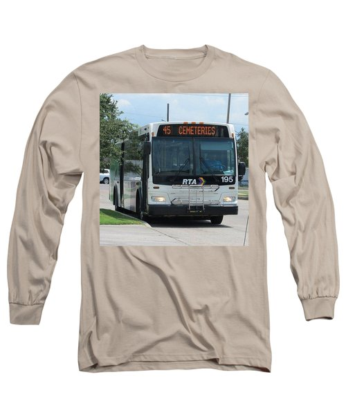 Cemeteries - Rapid Transit Authority - New Orleans La Long Sleeve T-Shirt